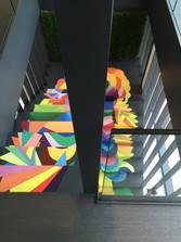 Escalier @Alleva Luxembourg
