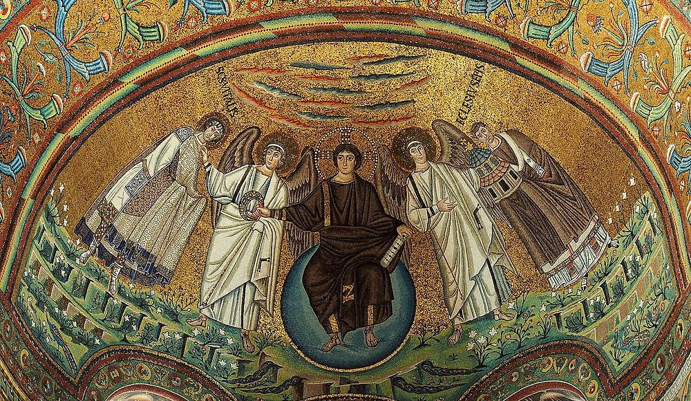 Мозаїка з апсиди собору святого Віталія, Равенна