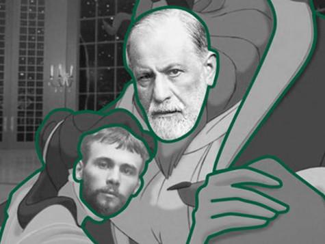 Густав Клімт під ручку з Фройдом