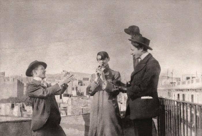 picasso-casagemas-and-c381ngel-f-de-soto-carrer-de-la-mercc3a8-1900