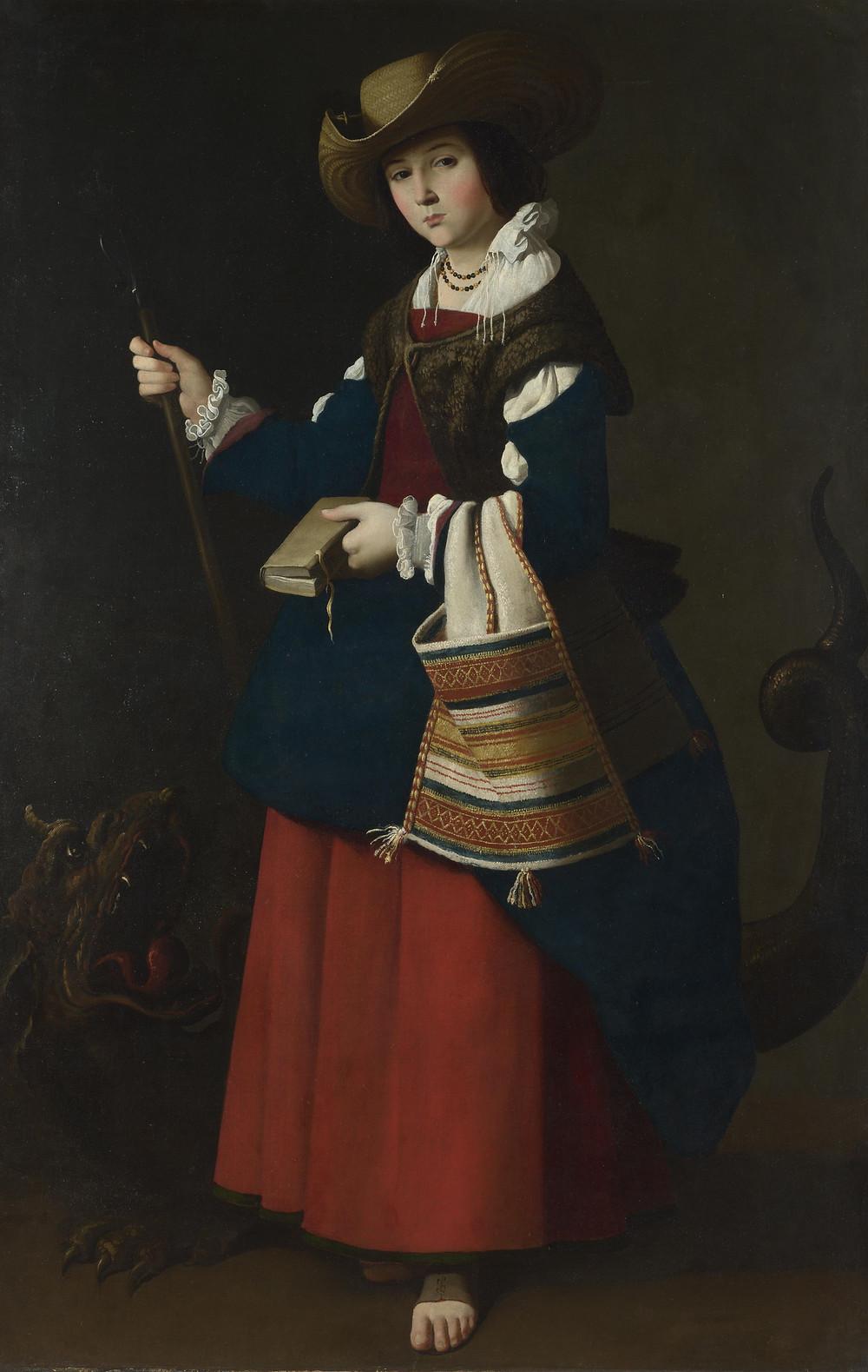 Свята Маргарита, Франциско де Сурбаран