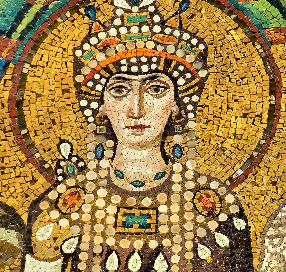 Мозаїка Теодори з апсиди собору святого Віталія, Равенна