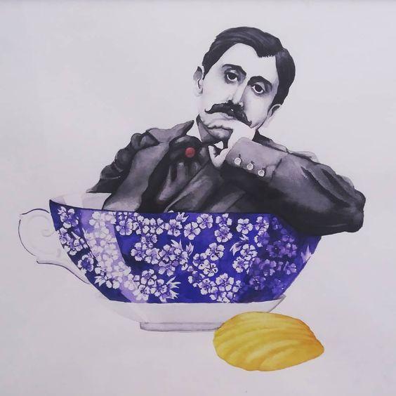 Пруст, який плаває в чашці липового чаю й веслує мадленами