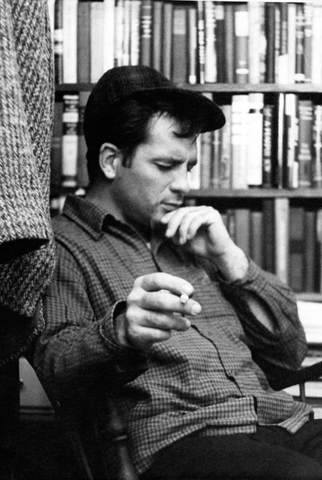 Kerouac At McDarrah's Apartment