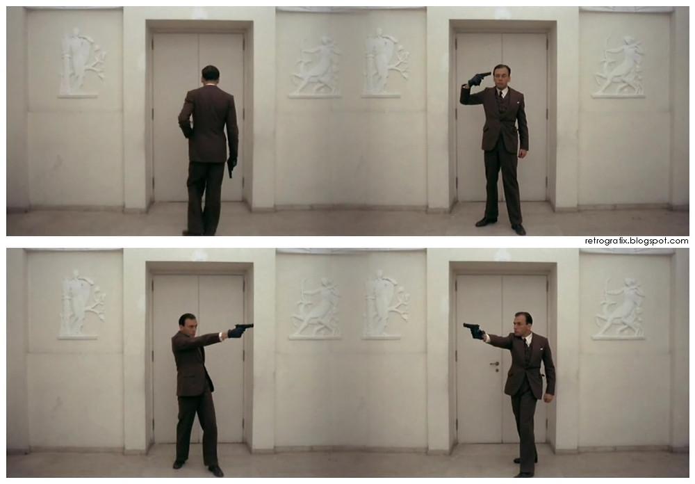 """Двері ліфта не обмежують Марчелло із """"Конформіста"""" Бертолуччі візуально, а не фізично"""