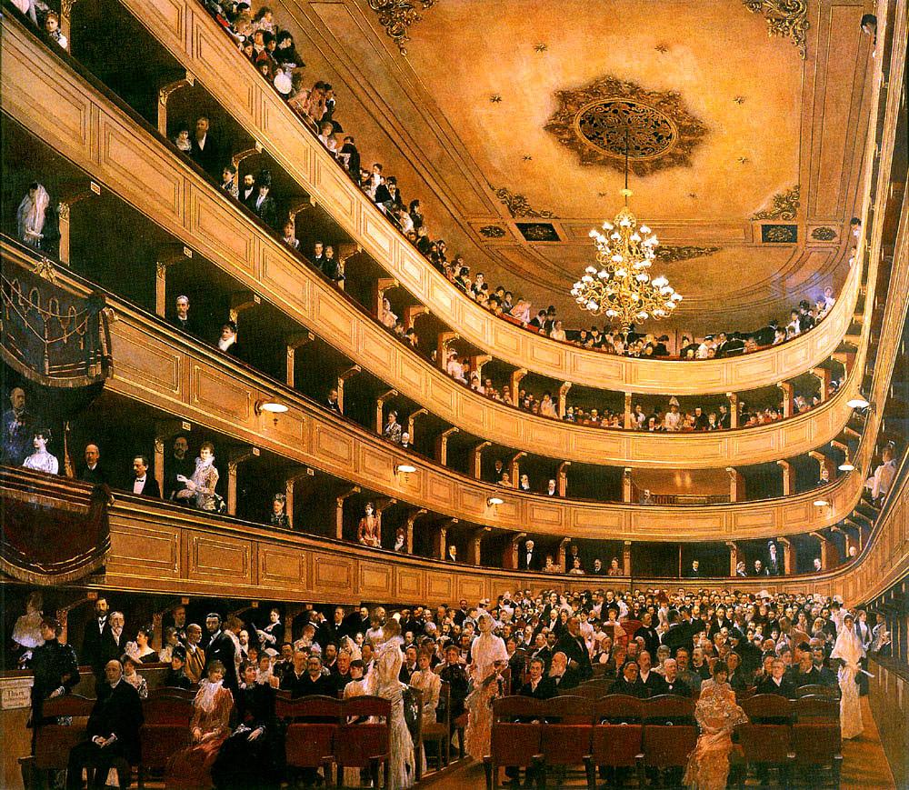Зал старого Бурґтеатру