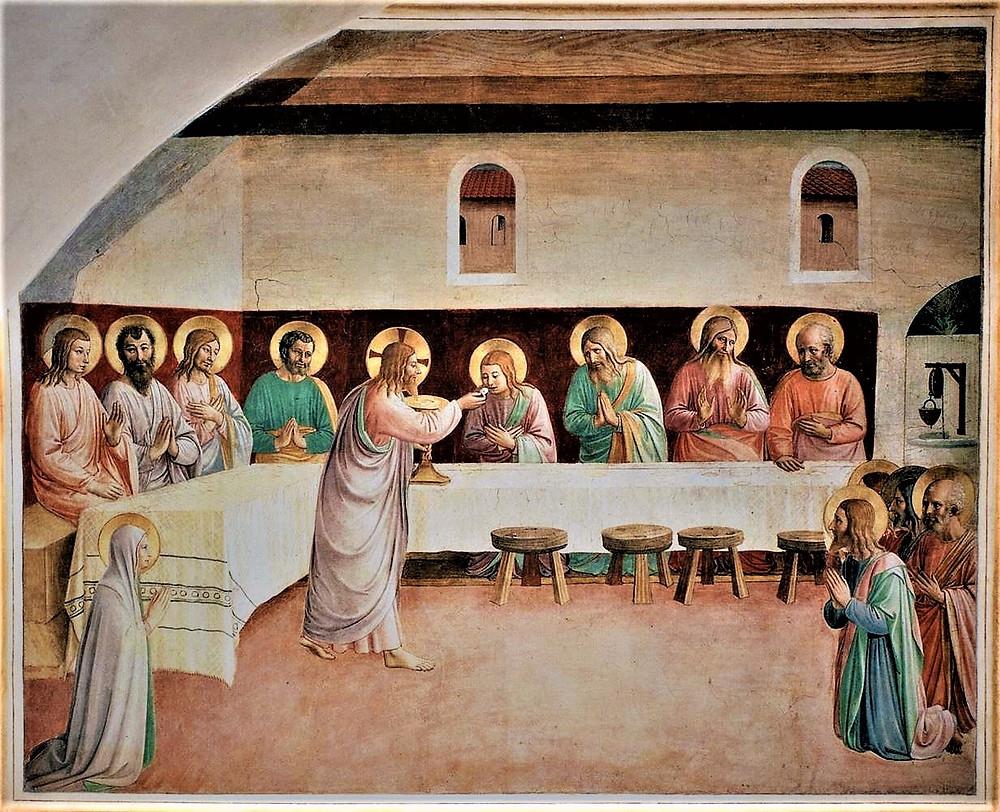 Institution of Eucharist_San Marco_1441-42.jpg