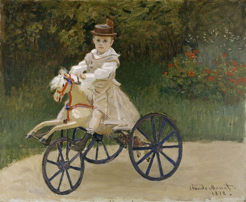800px-Claude_Monet_-_Jean_Monet_on_his_Hobby_Horse