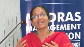Green Guardian award for Shobha Menon