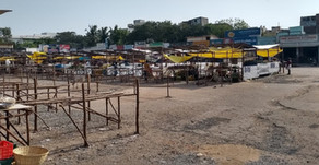 Thiruvanmiyur market is back, with a change in venue