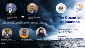 US-India Education foundation to conduct session on Oceans and Monsoon