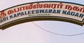 Neelankarai residents oppose stormwater drains