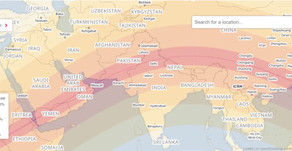 Partial solar eclipse in Chennai