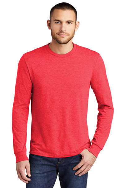 Long Sleeve Tee (Red Frost) No Sponsor Logos on Back