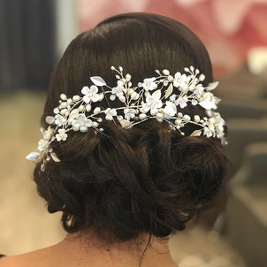Bridal trial from today #bride #bridalha