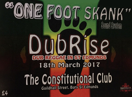 ONE FOOT SKANK RISE UP!!! 18th March 2017