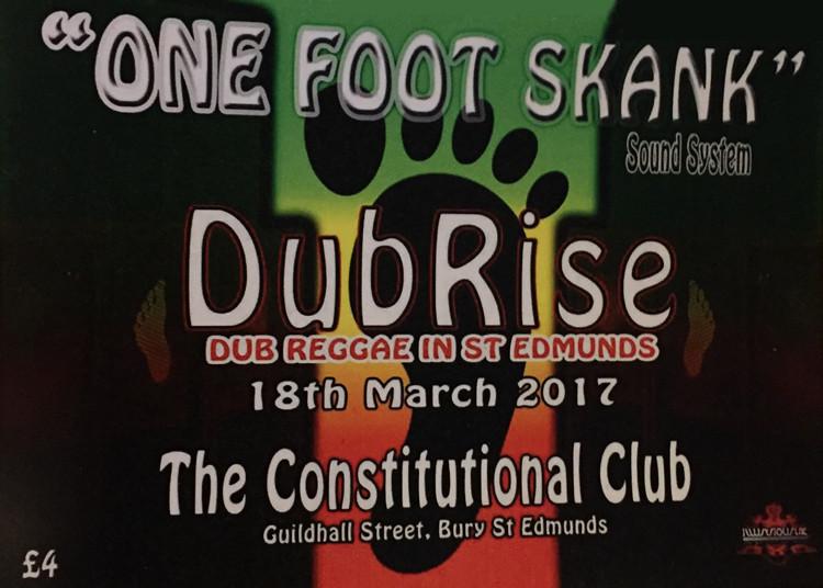 One Foot Skank