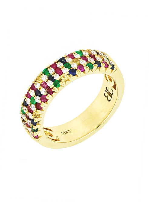 Mixed Stackable Ring