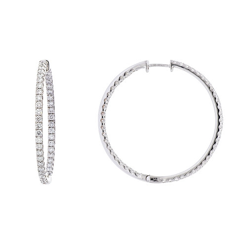 Audrey Inside Out Hoops