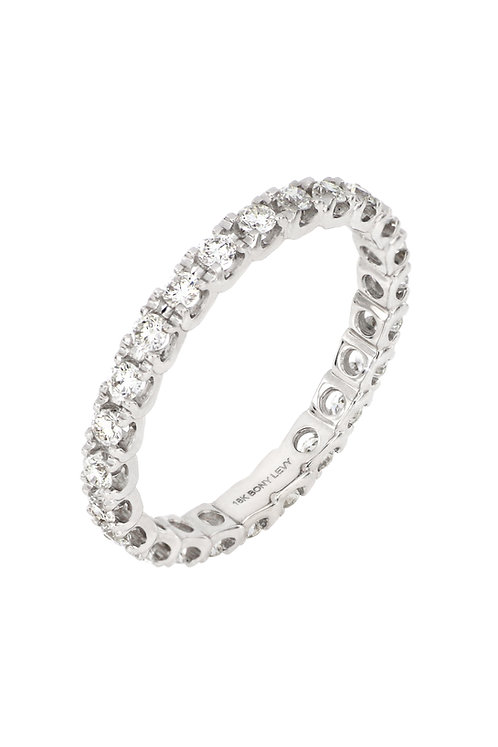 AUDREY 4 PRONG ETERNITY RING