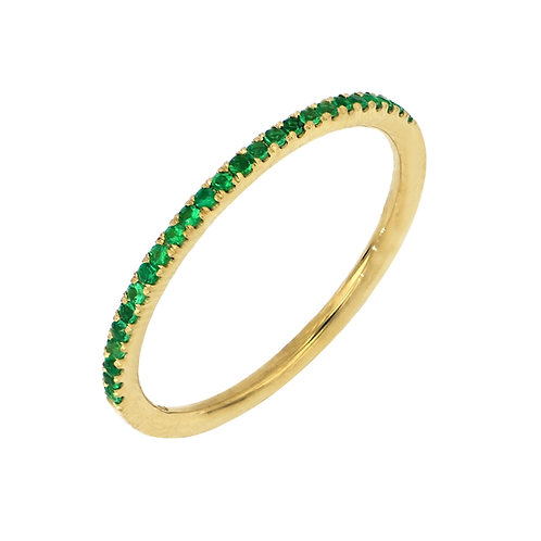 El Mar Precious Stone Stackable Rings