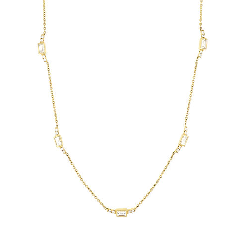 Katharine Baguette Necklace