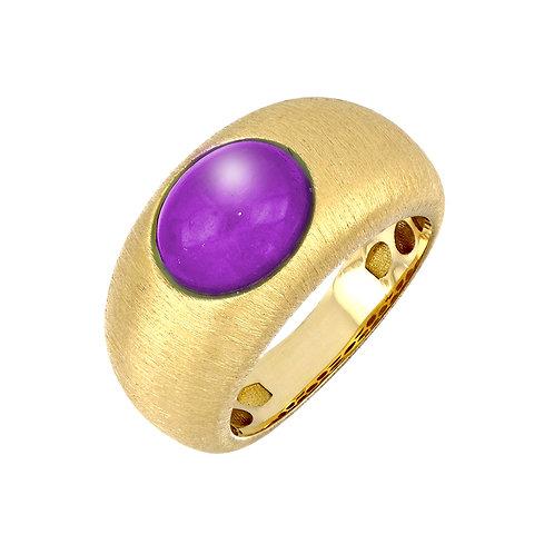 Iris Bold Amethyst Ring