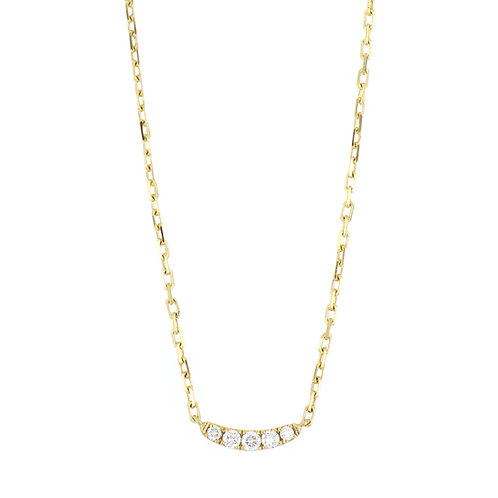 KATHARINE PETITE CURVED BAR NECKLACE