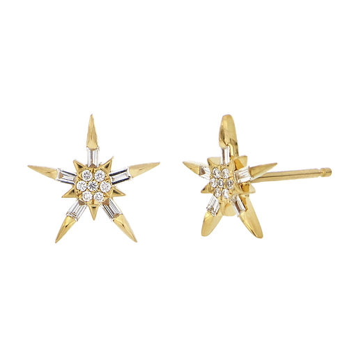 BL Icons Pointed Star Studs