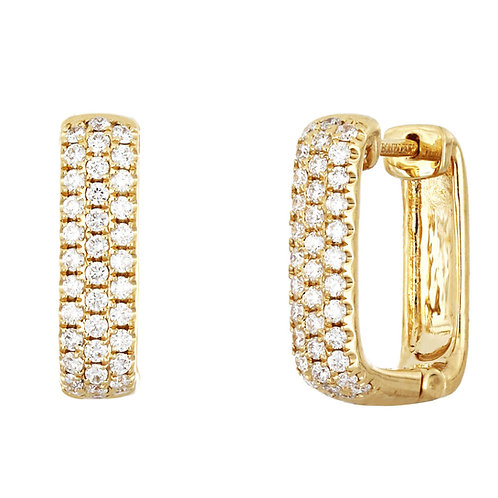 Katherine Diamond Hoops