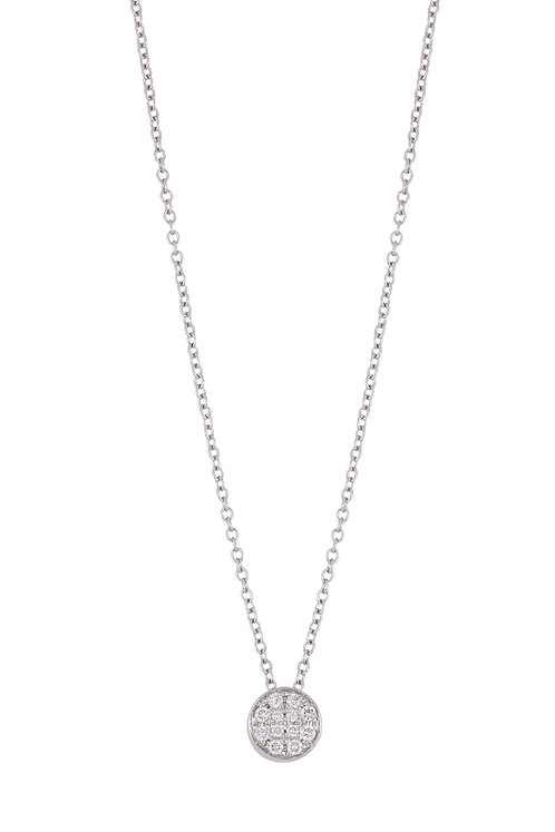 Bardot Diamond Pendant Necklace