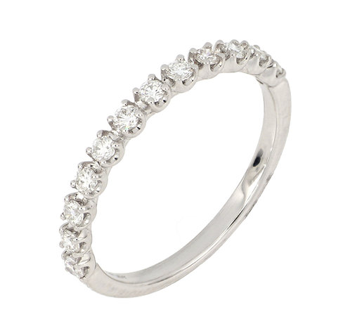 AUDREY 4 PRONG STACKABLE RING