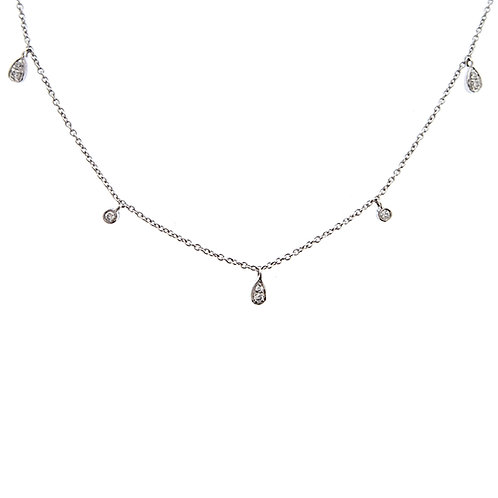 Pear Swing Station Necklace