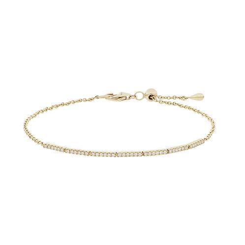 Aviva Adjustable Bar Bracelet