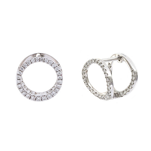 Bardot 3D Circle Earrings