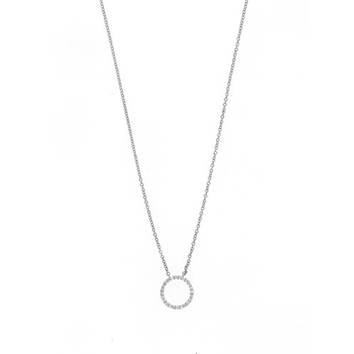 BL Icons Petite Open Circle Pendant