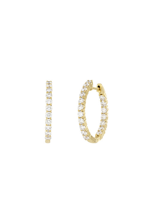 LIORA 20MM IN-N-OUT HOOPS