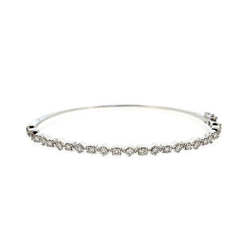 Maya Diamond Bangle