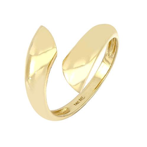 14K Gold Wrap Ring
