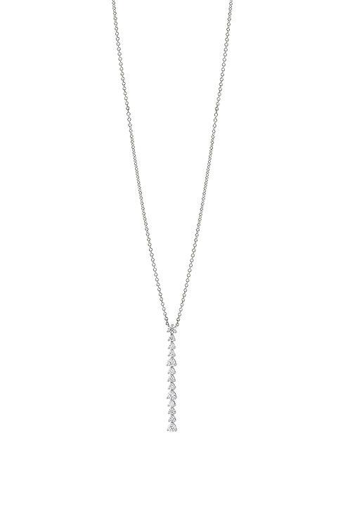 Audrey Linear Diamond Pendant