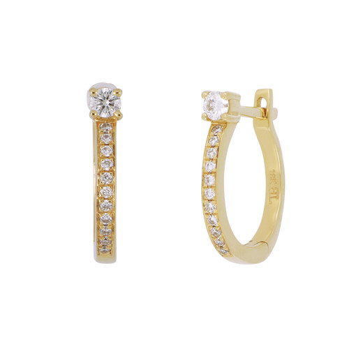 a0c94317b141b6 Diamond Hoops Earrings