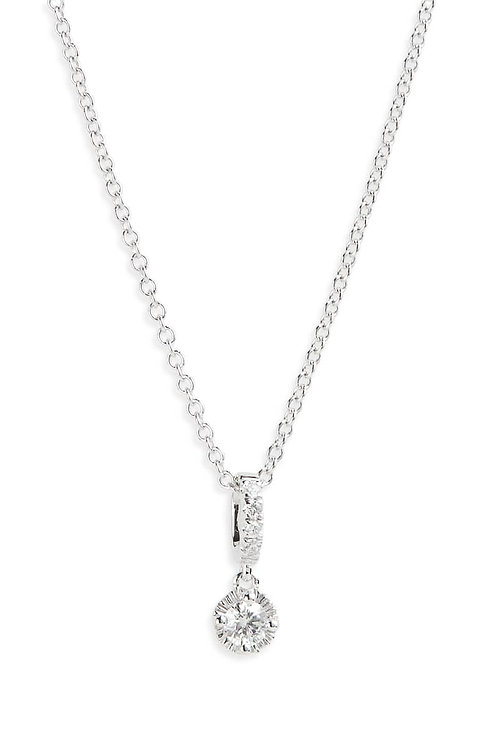 Mila Diamond Solitaire Pendant