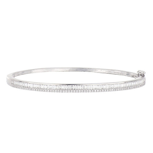 GATSBY TAPERED BAGUETTE BANGLE