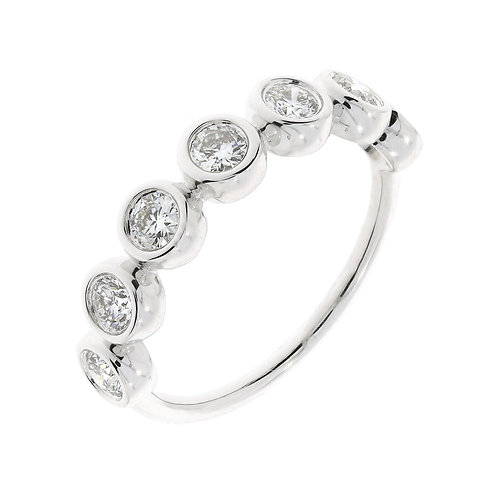 Monaco Bezel Stackable Ring