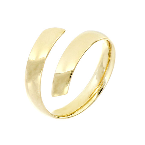 Bony Levy Gold Bypass Statement Ring