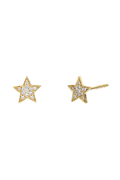 Simple Obsession Petite Star Studs