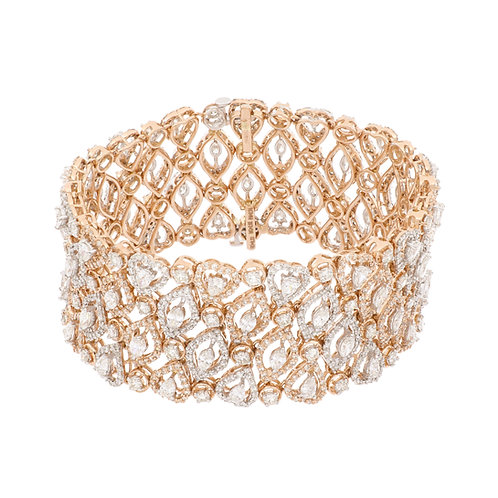Varda Lux Floating Marquee Bracelet