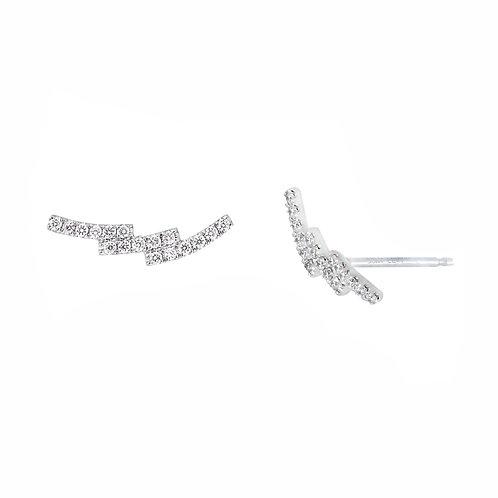 ZigZag Diamond Earrings
