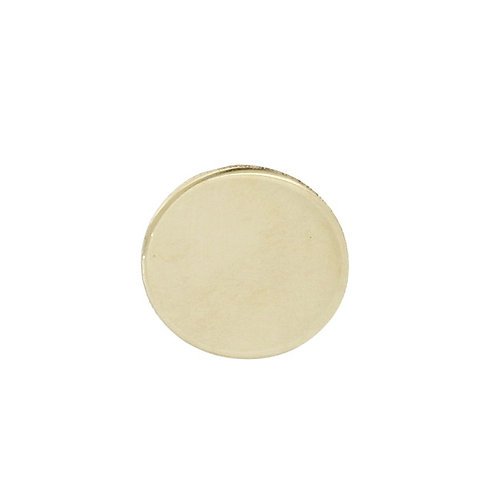 Bony Levy Gold Single Disc Stud