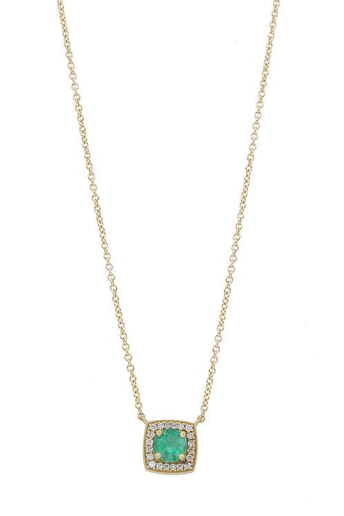 Columbian Emerald Small Pendant